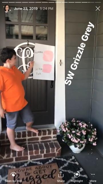 choosing paint color front door