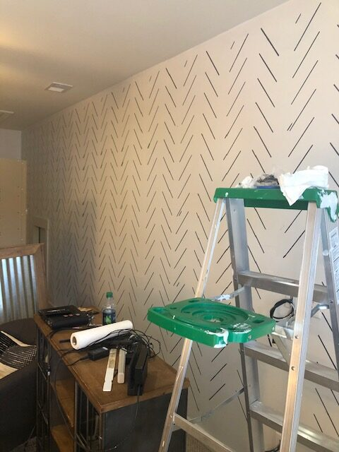 wall painting and stenciling