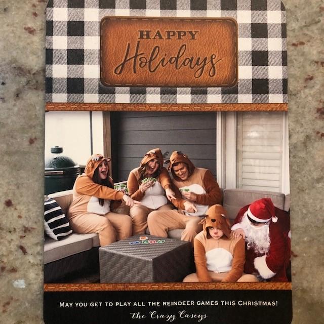 rudolph, santa, reindeer, family christmas card, christmas photo, christmas card idease